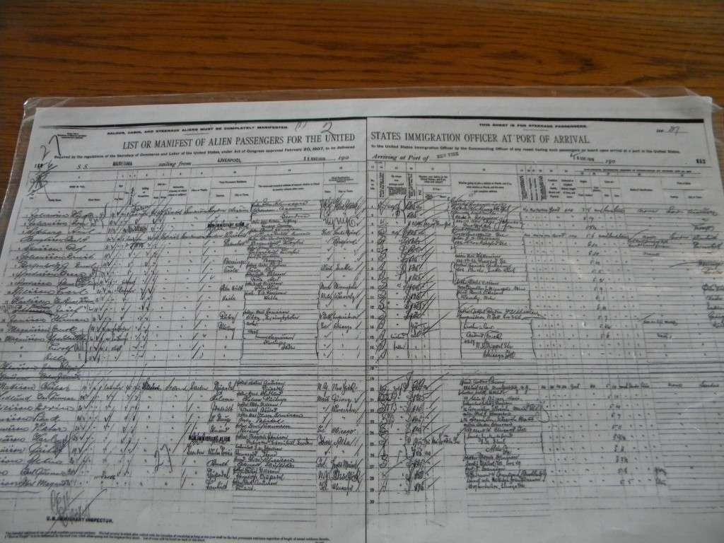 Libro dei nomi a Ellis Island