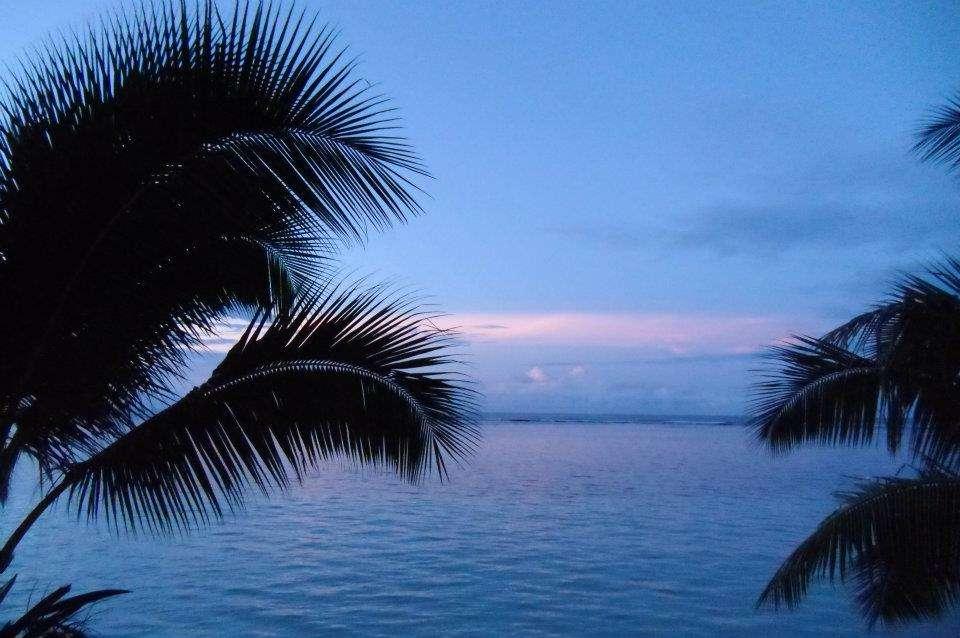 samoa tramonto