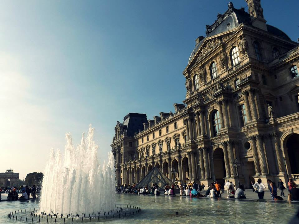 louvre #ioCammino Parigi