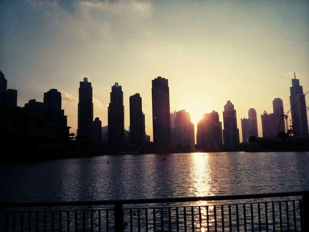 cosa vedere a dubai tramonto