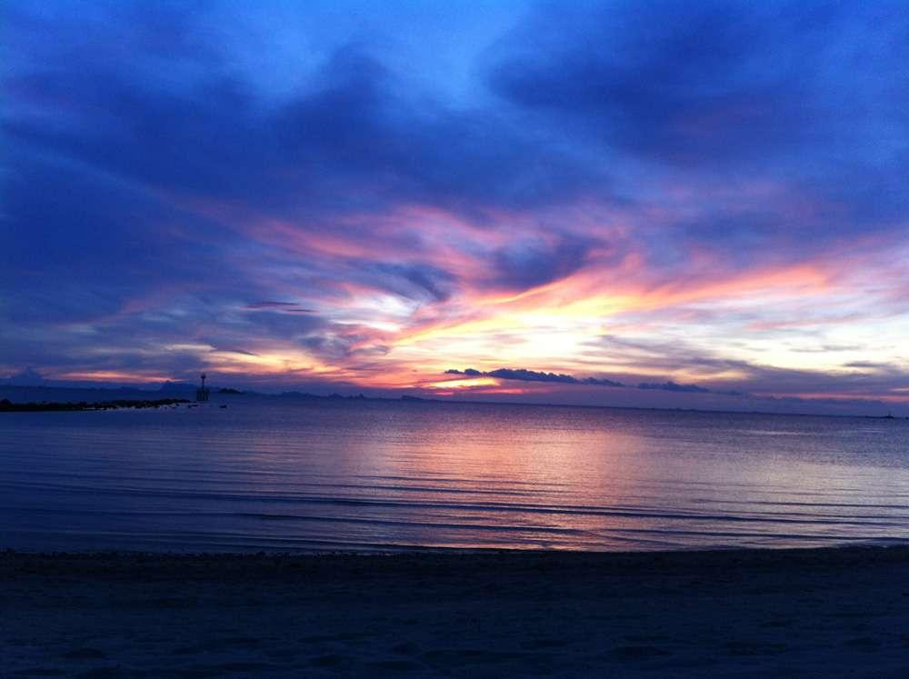 tramonto da nomadi digitali