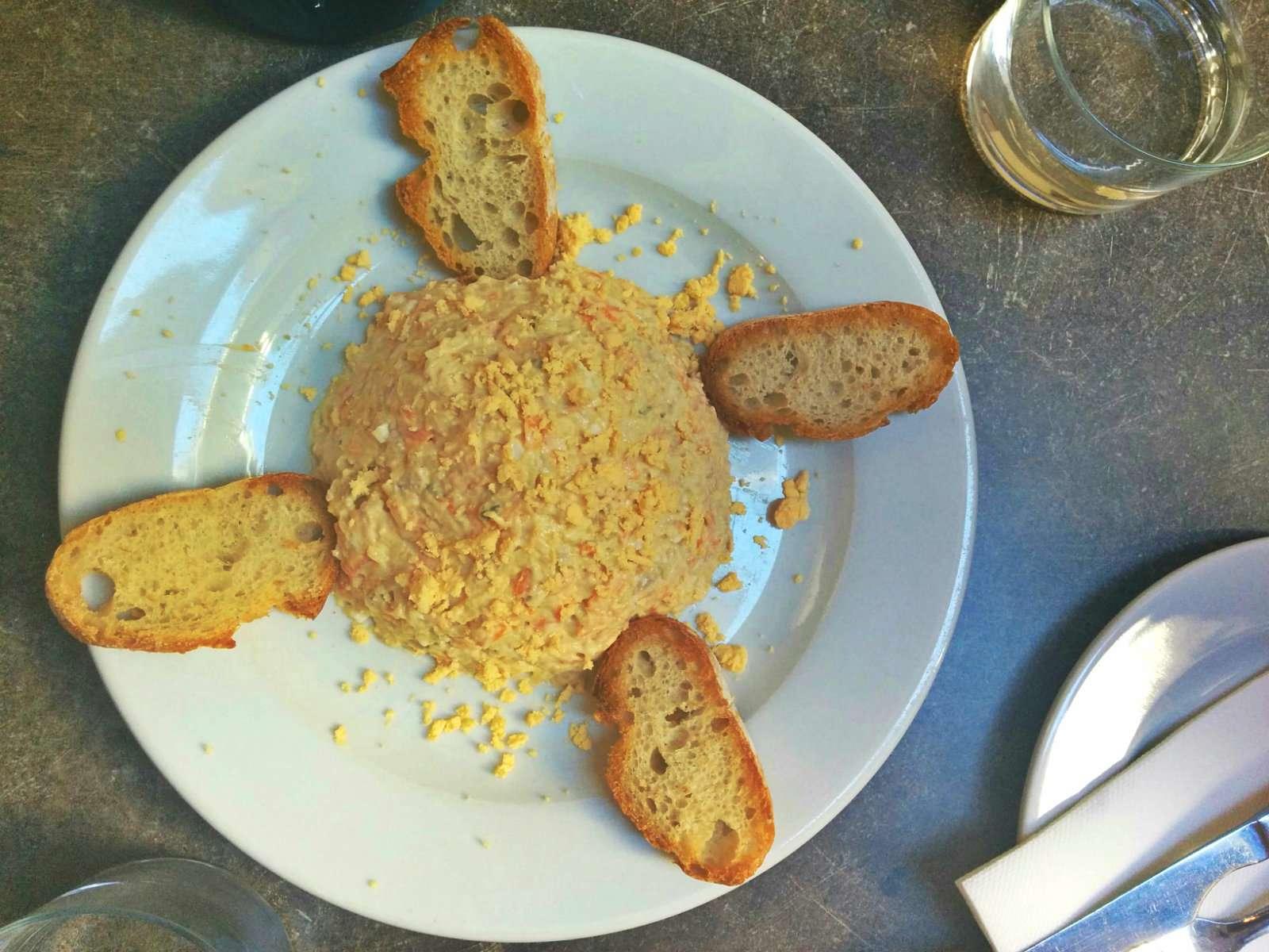 ensalada rusa en Valencia