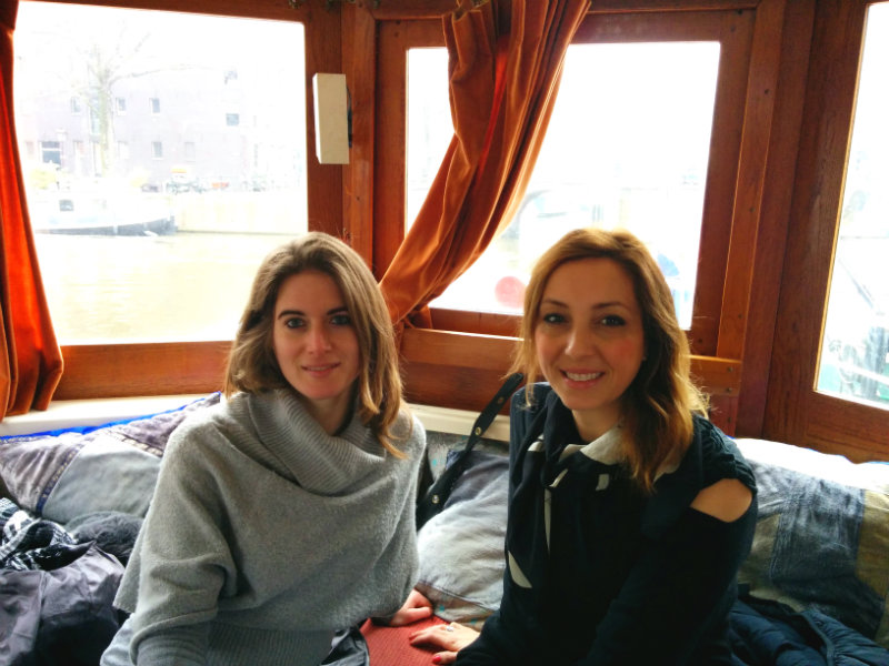 Houseboat-Amsterdam