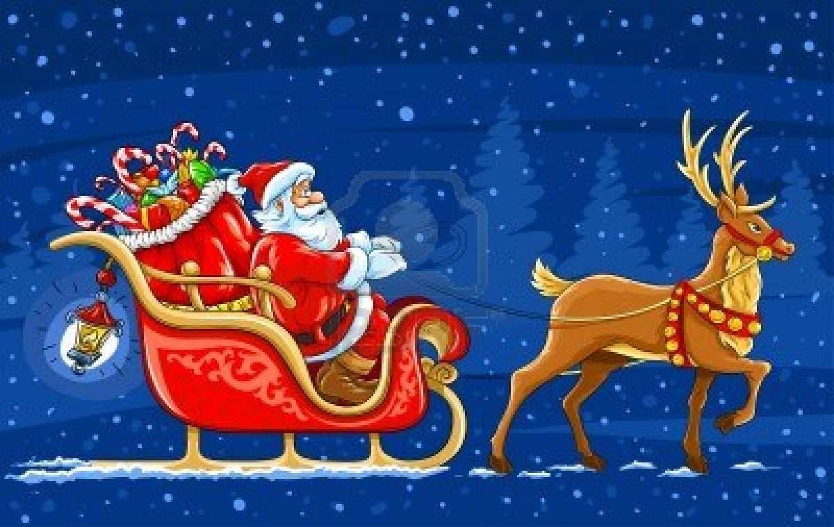 Immagini Babbo Natale Con Slitta.Viaggio Tra Le Tradizioni Natalizie Del Mondo