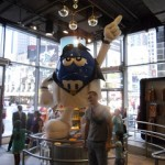 il negozio più grande di M&M's a Times Square!!