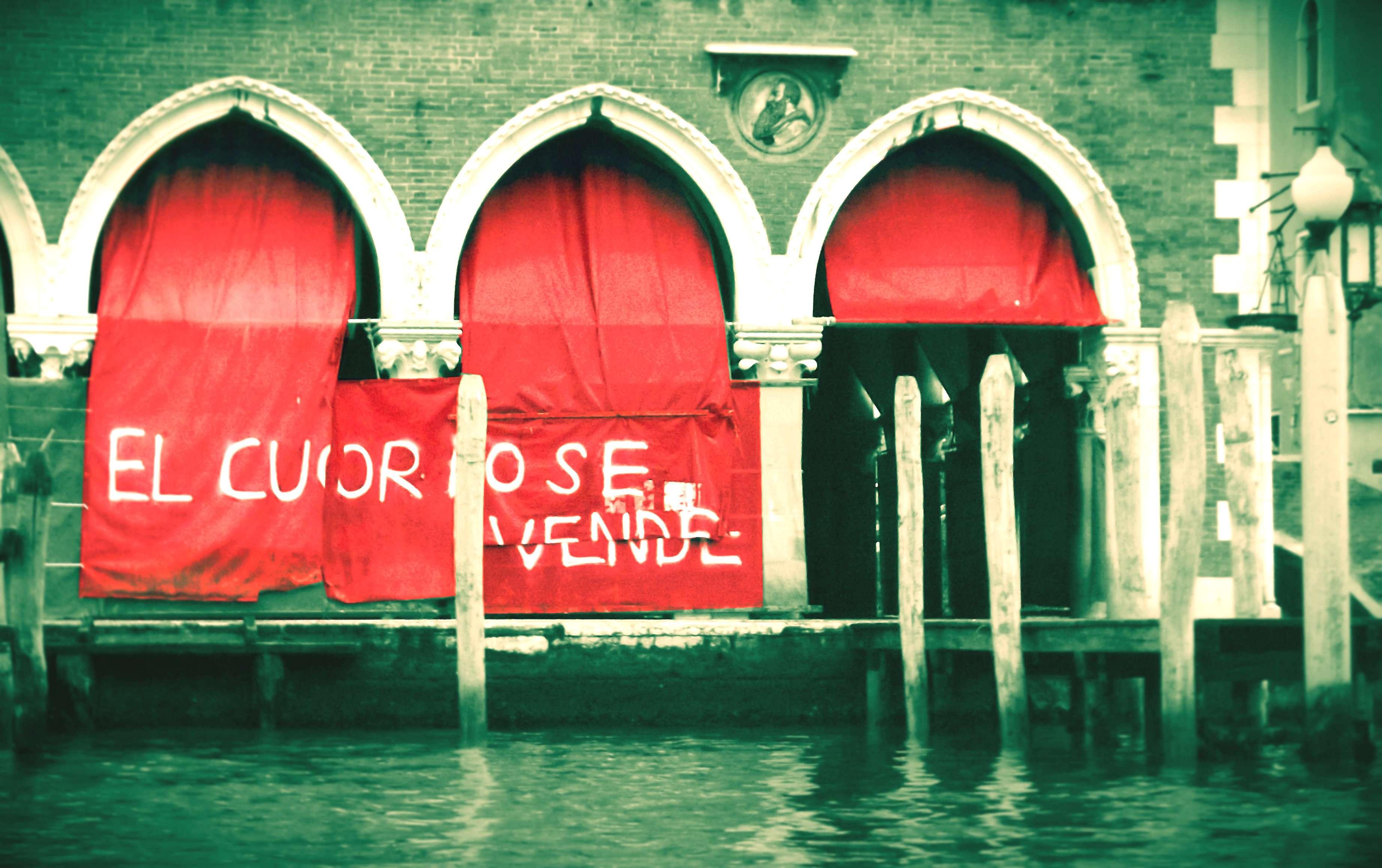 lasciamo morire venezia