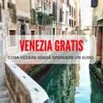 Cosa vedere a Venezia… Gratis!