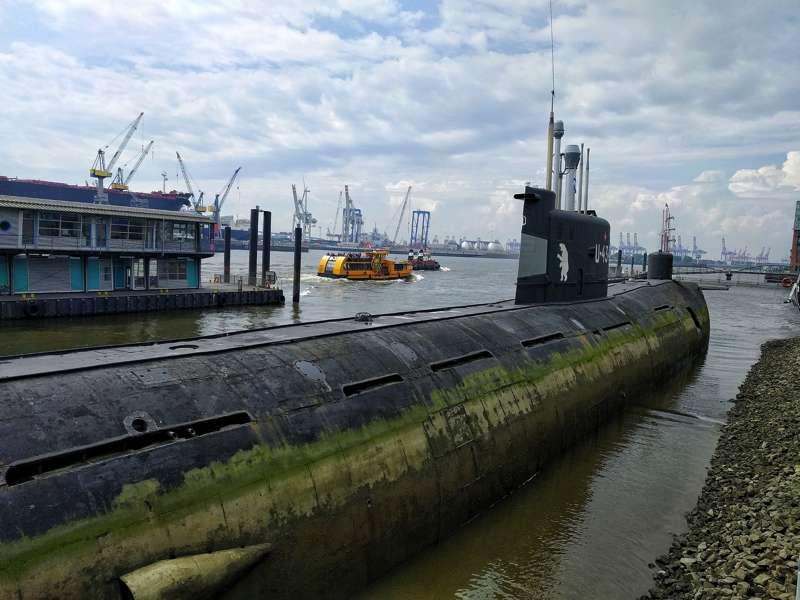 Sottomarino sovietico ad Amburgo