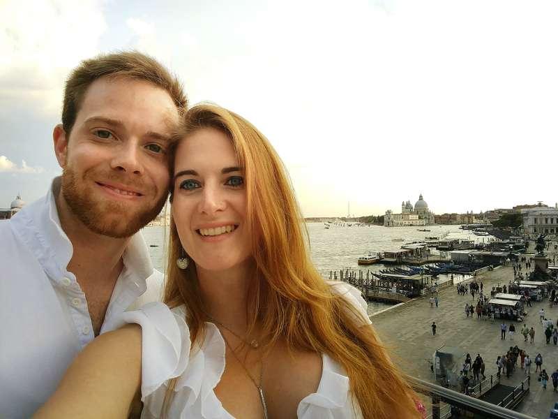 Turista per un giorno a venezia - cena in terrazza