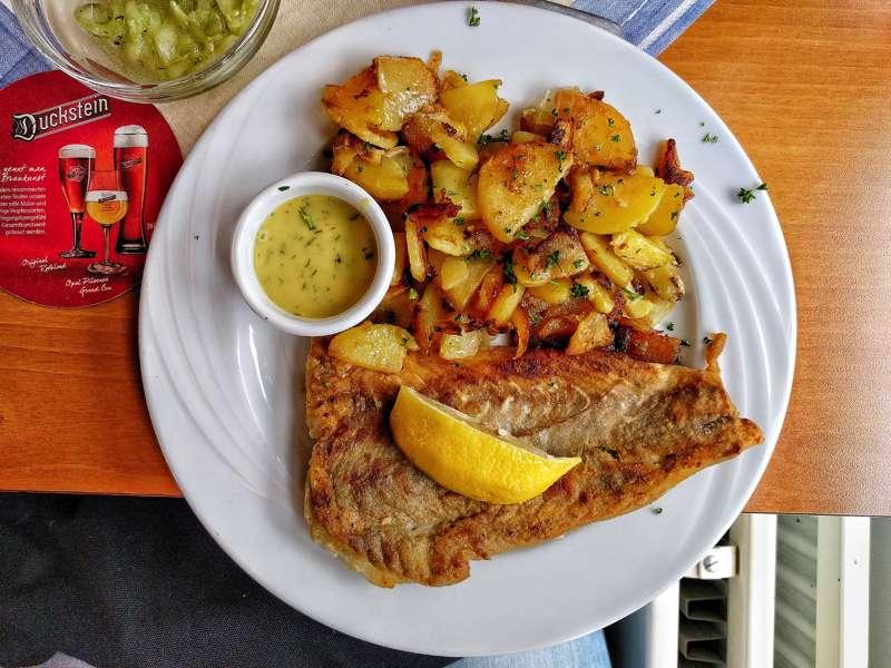 cosa e dove mangiare ad amburgo Fischpfanne