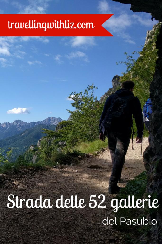 strada delle 52 gallerie del pasubio veneto