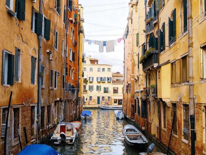 Ghetto Veneziano, vista sul canale