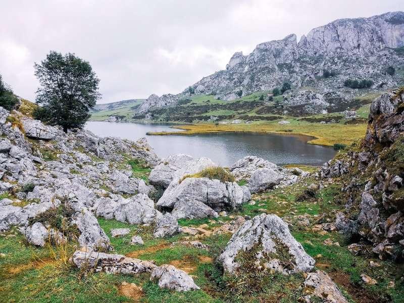 Escursione ai laghi di covadonga e santuario lago Ercina