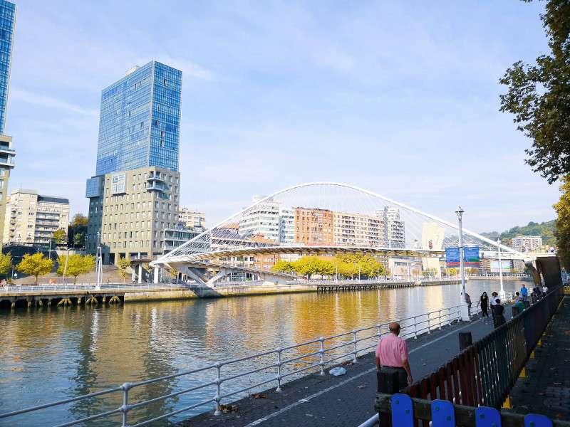 Ponte di Calatrava, Bilbao