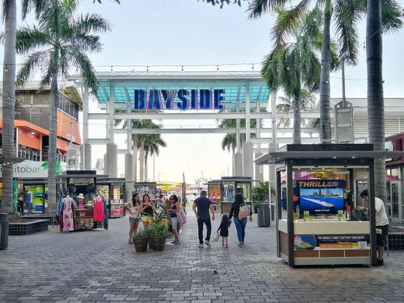 Viaggio in Florida: Bayside Miami Downtown